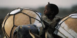 Nouvelles Images - affiche enfant peul bororo niger - Affiche