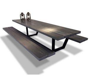 Cassecroute - table béton - Table Pique Nique