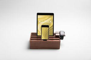 ALL DOCK - alldock noyer moyen - Support De Tablette