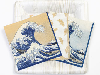 CASPARI - the great wave - Porte Serviettes En Papier