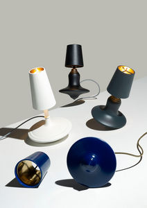 LABEL/BREED - cast metal lamp high & low - Lampe À Poser À Led