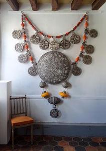 FRANCOISE JEANNIN - collier d'anfa - Décoration Murale