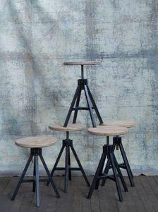 ASSEMBLAGE M - atelier-- - Tabouret