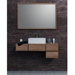 BOIS DESSUS BOIS DESSOUS - ensemble de salle de bain en bois de teck - meuble - Meuble De Salle De Bains