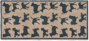 HUG RUG - tapis paillasson pour la maison motif chien 65x150 - Paillasson