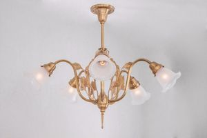 PATINAS - szeged 5 armed chandelier - Lustre
