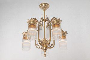 PATINAS - sopron 5 armed chandelier ii. - Lustre