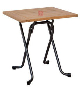 Azur Confort -  - Table De Jardin Pliante