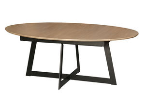 MICHEL FERRAND - quartz - Table De Repas Ovale