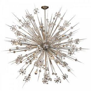 ALAN MIZRAHI LIGHTING - qz6175 crystal sputnik - Lustre