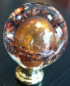 IGS deco - ambre - Boule D'escalier