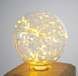 NEXEL EDITION - -fantaisie globe blanc chaud - Ampoule Led