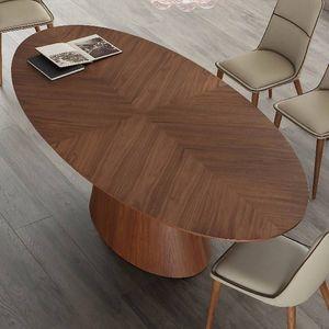 NOUVOMEUBLE -  - Table De Repas Ovale