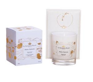 LA SAVONNERIE ROYALE - pétales d'églantine avec bracelet - Bougie Parfumée