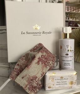 LA SAVONNERIE ROYALE - pétales d'églantine & masque - Coffret Bien Être