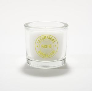 LA COMPAGNIE MARSEILLAISE - pastis - Bougie Parfumée