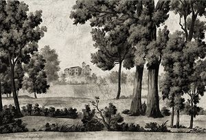 Ananbô - saint martin terre brune - Papier Peint Panoramique