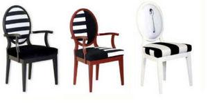 Tereza Prego Design - lexington zip - Fauteuil Médaillon