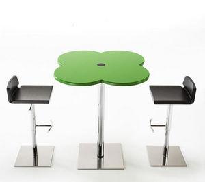 IBEBI DESIGN - ippo flower - Table Bistrot Réglable
