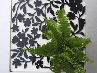 LES JARDINS DE CHLOE - contemp-mb-fougère - Décoration Murale