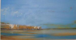 www.maconochie-art.com - south sea wall - Huile Sur Toile Et Huile Sur Panneau