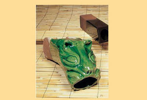 LA GOUTTIERE EN TERRE CUITE -  - Gargouille