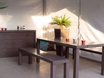 Beton Concept -  - Table De Jardin