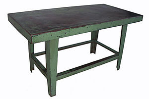 AMERICAN GARAGE - table industrielle 1930 - Table Bureau