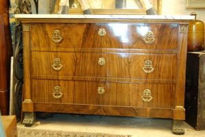 Antiquites Decoration Maurin -  - Commode � Colonnades