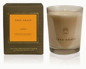 Arco Candles - amber - Bougie Parfum�e