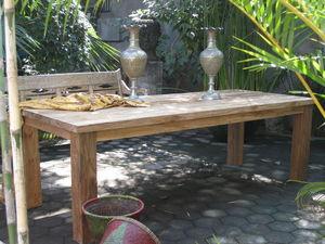 YOGJA DECO - sensation - Table De Repas Rectangulaire