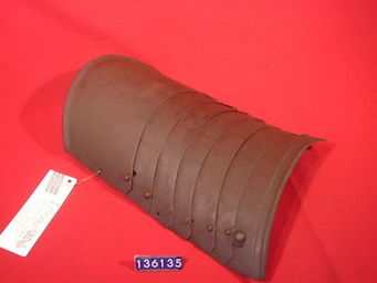 LE HUssARD - tassette de cavalier - Armure