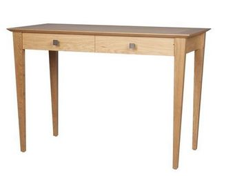 Gerard Lewis Designs - dressing table with drawers in oak - Coiffeuse