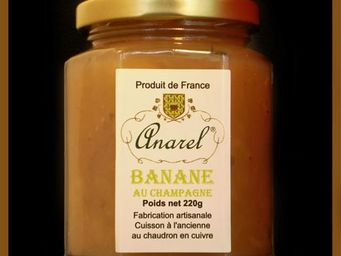 ANAREL - banane - Confiture