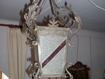 DS Antiquit? -  - Lanterne D'intérieur