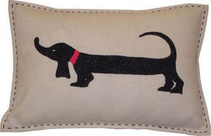 Barbara Coupe - sausage dog - Coussin Rectangulaire