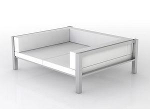 swanky design - rok day bed 3 sides - Canapé De Jardin