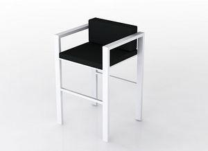swanky design - lix stool with arms - Chaise Haute De Bar