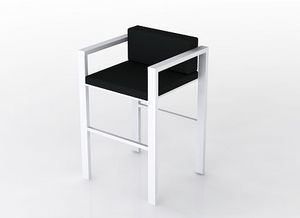swanky design - lix stool with arms - Chaise Haute De Bar