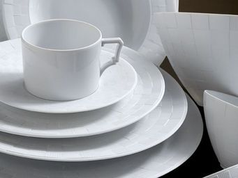 L'OBJET - byzanteum blanc dinnerware - Assiette Plate