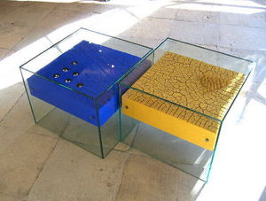 GLADYS NISTOR -  - Table Basse Carrée