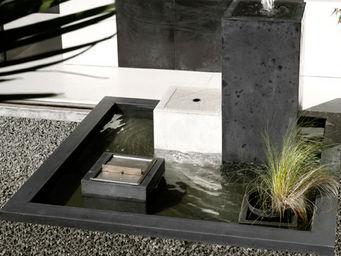 Beton Concept -  - Fontaine Centrale D'extérieur