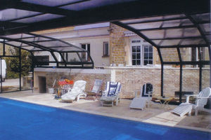 Telescopic Pool Enclosures -  - Abri De Piscine Haut Fixe Mural