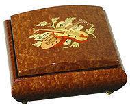 Ayousbox - boîte à musique darina - avec compartiment à bague - Boite À Musique