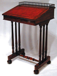 BAGGOTT CHURCH STREET - rosewood writing desk - Meuble Écritoire
