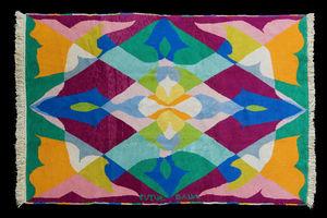 MARCO SALVATORI - fiori+spazio, giacomo balla - Tapis Contemporain