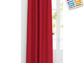 Heytens - bachette rouge - Rideaux Pr�ts � Poser