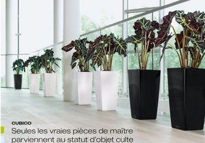 LECHUZA - cubico - Pot De Jardin