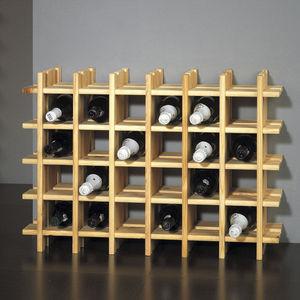 ABC MEUBLES - porte-bouteilles 30 bouteilles - Range Bouteilles
