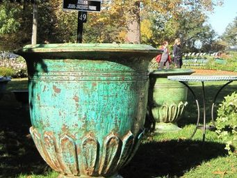 PLANTERS-CONTACT-PROVENCE - vase classique geant nymphea polychrome - Bac D'orangerie